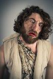 Ρεαλιστικό Caveman Στοκ φωτογραφία με δικαίωμα ελεύθερης χρήσης
