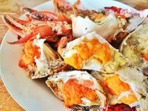 Ρεσμένα αυγά καβουριών Στοκ εικόνες με δικαίωμα ελεύθερης χρήσης
