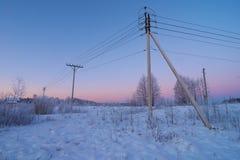 Ρευματοδότης στην επαρχία Στοκ Φωτογραφίες