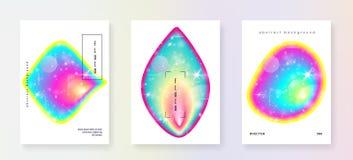 Ρευστός δυναμικός με τις μορφές και τα στοιχεία διανυσματική απεικόνιση