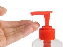 ρευστό σαπούνι Στοκ εικόνες με δικαίωμα ελεύθερης χρήσης