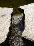 ρεύμα βράχων Στοκ φωτογραφίες με δικαίωμα ελεύθερης χρήσης
