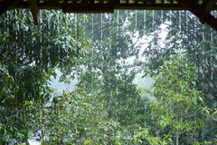 Ρεύμα βροχής Στοκ φωτογραφία με δικαίωμα ελεύθερης χρήσης