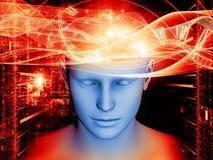 Ρεύμα μυαλού Στοκ εικόνα με δικαίωμα ελεύθερης χρήσης