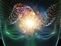 Ρεύμα μυαλού Στοκ Εικόνα