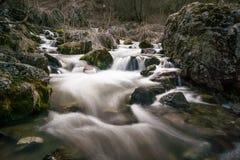 Ρεύμα νερού στον ποταμό kazbegi στοκ φωτογραφίες