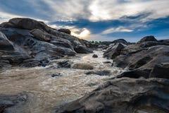 Ρεύμα που ρέει mekong στον ποταμό, Ταϊλάνδη Στοκ Εικόνες