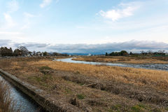 Ρεύμα σε Arashiyama Κιότο Ιαπωνία στοκ φωτογραφία με δικαίωμα ελεύθερης χρήσης