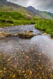 Ρεύμα στο πέρασμα Llanberis, σε Snowdonia από Llanberis, πέρα από το μάνδρα-Υ-πέρασμα Στοκ Εικόνα