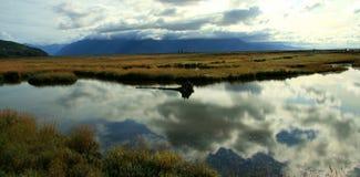 ρεύμα της Αλάσκας Στοκ Φωτογραφίες