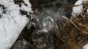 Ρεύμα του νερού λειωμένων μετάλλων φιλμ μικρού μήκους