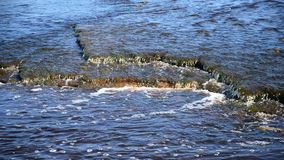 Ρεύμα του υποβάθρου ποταμών απόθεμα βίντεο