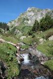 ρεύμα των Πυρηναίων βουνών Στοκ φωτογραφία με δικαίωμα ελεύθερης χρήσης