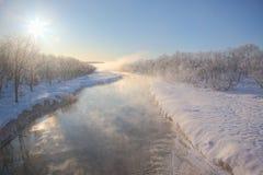 ρεύμα wintertime Στοκ Φωτογραφίες