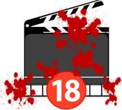 ρητή σκηνή ταινιών Στοκ Εικόνες