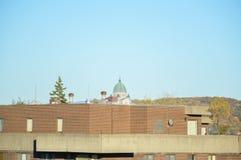 Ρητορική του ST Joseph πίσω από τη στέγη Στοκ Εικόνα