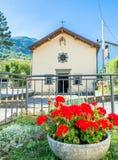 Ρητορική SAN Rocco σε Ligonchio, Ιταλία Στοκ εικόνα με δικαίωμα ελεύθερης χρήσης
