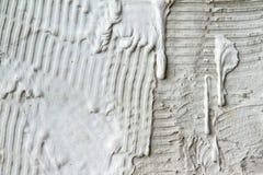 Ριγωτή επικεράμωση τοίχων ασβεστοκονιάματος για να περιμένει στοκ εικόνες