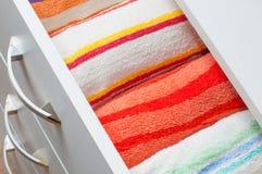 ριγωτή πετσέτα Στοκ Εικόνα