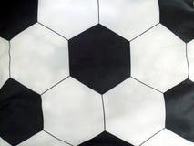Ριγωτή σφαίρα ποδοσφαίρου μαξιλαριών Στοκ Εικόνες