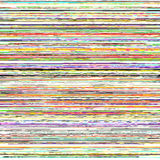 Ριγωτή σύσταση Glitchy Διανυσματική απεικόνιση