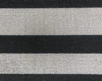 Ριγωτή υφαμένη κινηματογράφηση σε πρώτο πλάνο χαλιών πορτών στοκ φωτογραφία με δικαίωμα ελεύθερης χρήσης