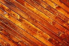 ριγωτός ξύλινος ανασκόπησ Στοκ εικόνα με δικαίωμα ελεύθερης χρήσης
