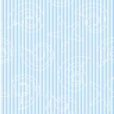 Άνευ ραφής σχέδιο ζωής θάλασσας με τα λωρίδες Στοκ Εικόνα