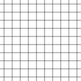 Ριγωτό γεωμετρικό άνευ ραφής σχέδιο πλέγματος κυττάρων - διανυσματική απεικόνιση - που απομονώνεται στο άσπρο υπόβαθρο απεικόνιση αποθεμάτων