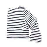 Ριγωτό πουκάμισο σε ένα άσπρο υπόβαθρο Στοκ Εικόνες