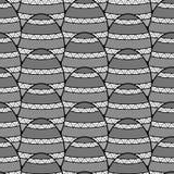 Ριγωτό σχέδιο κεραμιδιών διανυσματική απεικόνιση