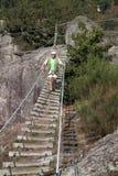 ριζοσπάστης ατόμων γεφυρών Στοκ φωτογραφία με δικαίωμα ελεύθερης χρήσης