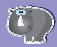 Ρινόκερος Διανυσματική απεικόνιση