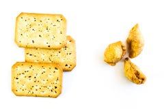 Ριπή και ψωμί κάρρυ Στοκ Εικόνα