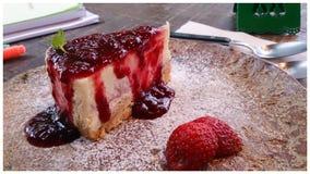 Ροή λάβας κέικ Στοκ Εικόνα