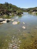 Ροή ενός ποταμού μετά από τη γέννηση στοκ φωτογραφία με δικαίωμα ελεύθερης χρήσης