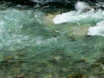 Ροή νερού ποταμού Στοκ Εικόνες