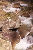 ροή πέρα από το ύδωρ βράχων Στοκ φωτογραφίες με δικαίωμα ελεύθερης χρήσης