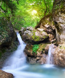 Ροή ποταμακιών άνοιξη στοκ φωτογραφία