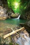 Ροή ποταμακιών άνοιξη στοκ φωτογραφίες
