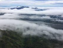 Ροή σύννεφων Στοκ φωτογραφία με δικαίωμα ελεύθερης χρήσης