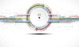 Ροή των βελών Φαντασία της επιχείρησης ή της διαδικασίας τεχνολογίας Β απεικόνιση αποθεμάτων