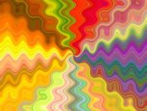 ροή χρωμάτων ελεύθερη απεικόνιση δικαιώματος