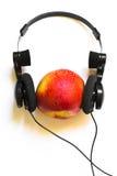ροδάκινο μουσικής στοκ φωτογραφίες με δικαίωμα ελεύθερης χρήσης