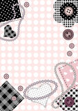 ροζ ανασκόπησης Στοκ εικόνα με δικαίωμα ελεύθερης χρήσης