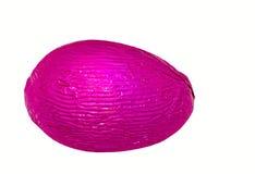 ροζ αυγών Πάσχας ενιαίο Στοκ εικόνα με δικαίωμα ελεύθερης χρήσης