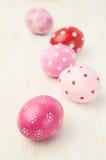 ροζ αυγών Πάσχας Στοκ εικόνες με δικαίωμα ελεύθερης χρήσης