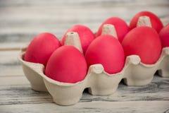 ροζ αυγών Πάσχας Στοκ φωτογραφία με δικαίωμα ελεύθερης χρήσης