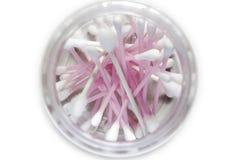 ροζ βαμβακιού οφθαλμών Στοκ Εικόνες