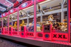 Ροζ γερανών Arcade Στοκ Φωτογραφίες